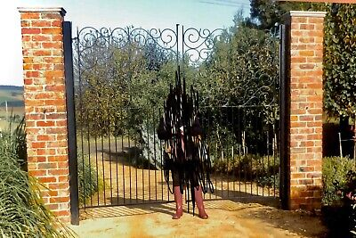 Wrought Iron Gates Art Deco