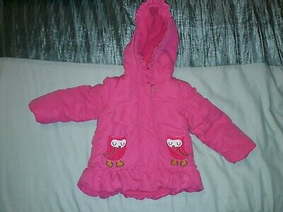 Girls Coats & Jackets. Age 6-9 Months and 9-12 Months