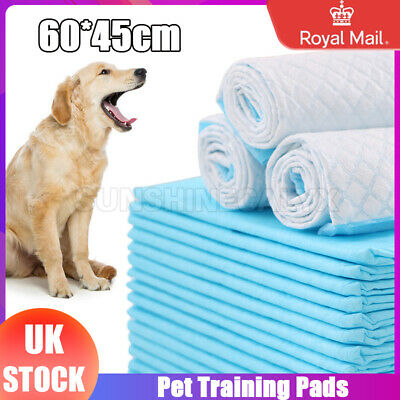 60X45Cm 50/100/150/200 Large Puppy Training Pads Toilet Pee Wee Mats Pet Dog Ca