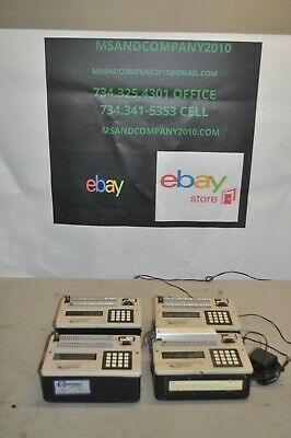 LOT OF 4 Campbell Scientific 21X Micrologger UNITS FREE SHIPPING