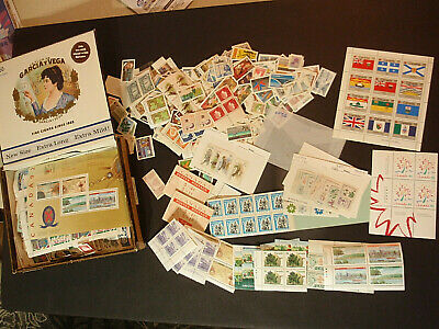 Canada Stamp & Sheet Lot  $200 Face Value  Mnh