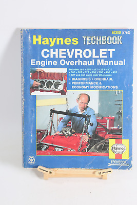 CHEVY 265 267 283 302 305 307 327 350 396 400 427 454 Overhaul Service Manual