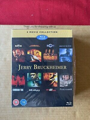 Jerry Bruckheimer 8 Movie Collection Blu Ray Box Set NEW & SEALED Rock Con Air