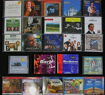 lot of 24 Classical Music etc. CD selections very good condition FREE SHIPPING