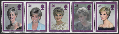 Gb Qeii - Diana - Princess Of Wales - Commemoration - Sg 2021 / 2025 - Mnh