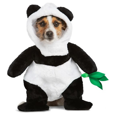 Thrills & Chills Pet Panda Halloween Party Costume for Dog or Cat XS M Large