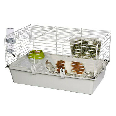 Cavie Guinea Pig Cage Water Bottle, Food Dish and Guinea Pig Hide-Out (Open Box)