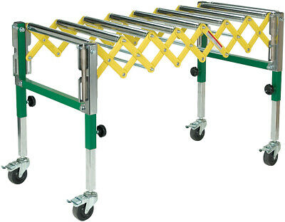 Accordion In/Out Feed Roller Stand