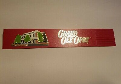 Vintage Red Leather Grand Ole Oprey Bookmark