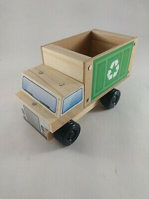 Recycling Truck new sealed original diy puzzle Project nib with free pin