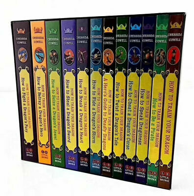 How to Train Your Dragon 12 Books Collection Box Set PB NEW