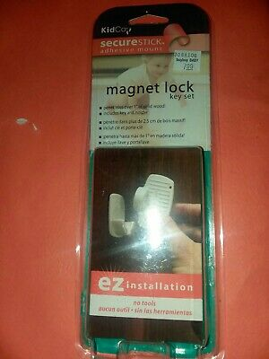 Magnet Key & Holder for KidCo Adhesive Mount Magnetic Lock