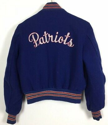 Ladies Varsity - College Jacket / Medium / Patriots / USA / DeLong / Casual