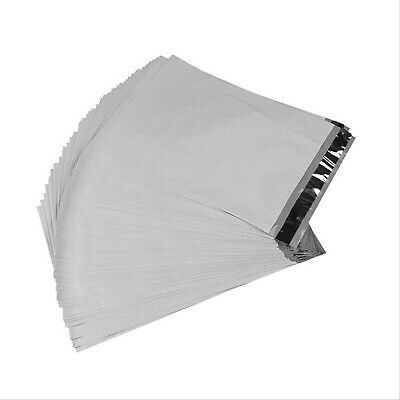 "100 - 9x12 White Ploy Mailers Envelopes Self Sealing Bags 9""x12"" - 2.5MIL"