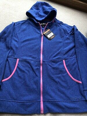 Girls *PETER STORM* Blue Fleece Hoodie Age 13 BRAND NEW WITH TAGS RRP £20