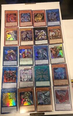 Yu-Gi-Oh! Cards Lot Value Collection Holos Rares 10+Cards! Free Shipping!