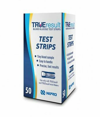 TrueResult Blood Glucose Test Strips - Pack of 50