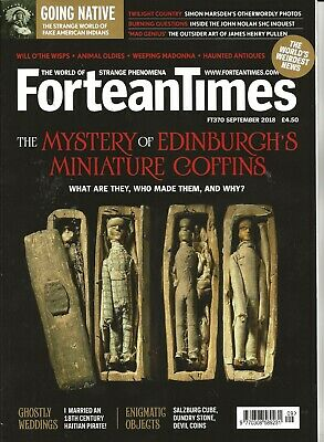 Fortean Times 370: Edinburgh's mini coffins: SHC; sonic attacks; Patrick Moore