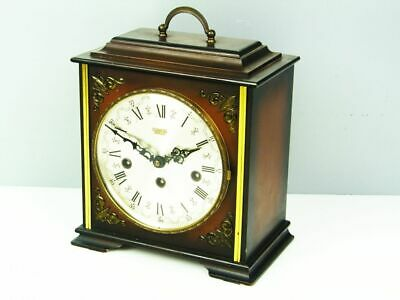 Later Art Deco Westminster Chiming Mantel Clock From Hermle Germany