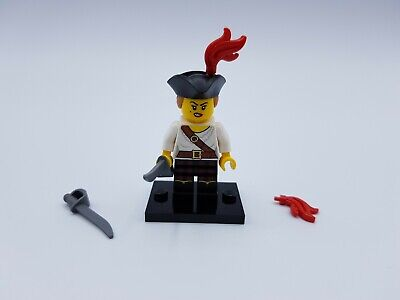 Lego  Figurine Fille Pirate Serie 20 N° 5 Ref 71027  *Comme Neuf*