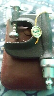 Vintage ROWI Camera Clamp Photography Mount with original • Made in West Germany