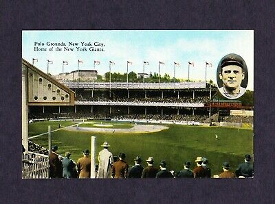 1920s POLO GROUNDS POSTCARD **JOHN McGRAW **NEW YORK GIANTS **EXCELLENT**