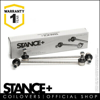 Stance+ Short Shortened Front Anti Roll Bar Drop Links 270mm (M12x1.5) DL2