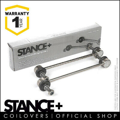Stance+ Short Shortened Front Anti Roll Bar Drop Links 240mm (M10x1.5) DL4