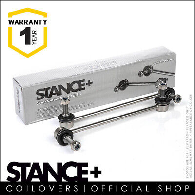 Stance+ Short Shortened Front Anti Roll Bar Drop Links 260mm (M12x1.5) DL5