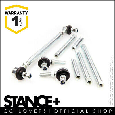 Stance+ Adjustable Front Anti Roll Bar Drop Links 150-200mm 220-270mm 270-320mm