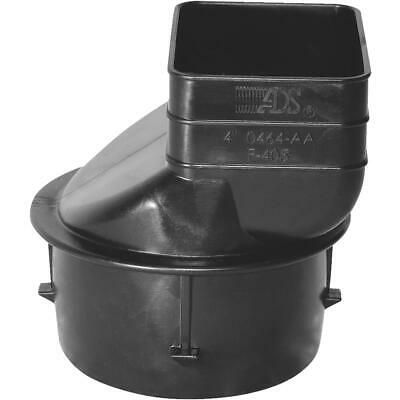 Advanced Basement 2 In. X 3 In. X 3 In. Polyethylene Corrugated to Downspout