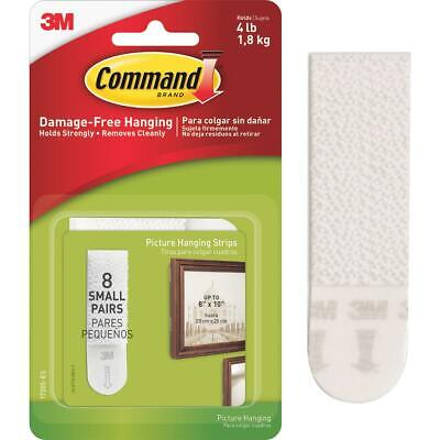 Command 5/8 In. x 2-1/4 In. White Interlocking Picture Hanger (16 Count)