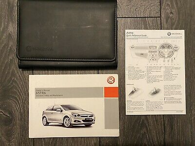 VAUXHALL ASTRA COUPE BERTONE SERVICE BOOK HANDBOOK /& WALLET PACK 1999 To 2004