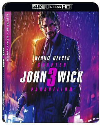 John Wick: Chapter 3 – Parabellum [Blu-ray 4K] Keanu Reeves/Halle Berry NEW