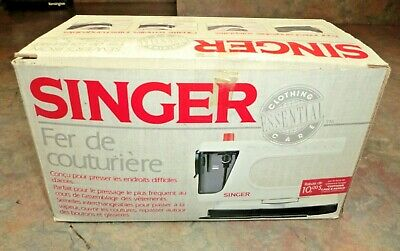 NEW Vintage Singer Sewer's Iron SI104 New in Box RARE 11