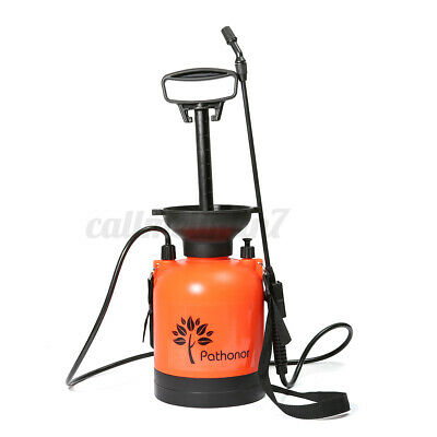 3L Pump Action Pressure Sprayer Fully Adjustable Spray Nozzle & Lockable Trigger