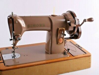 Vintage Singer Hand Cranked 185k Sewing Machine