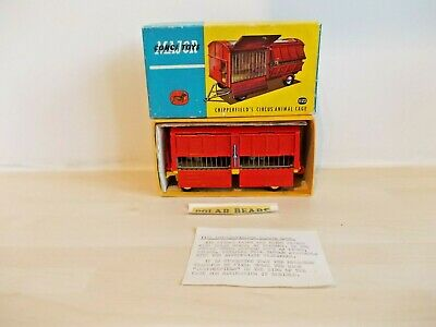 Corgi 1123 Chipperfields Circus Reproduction 1st Issue Metal Front Cage Door