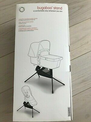 Bugaboo Stand plus Bugaboo Stand Adapter, Black - Brand New