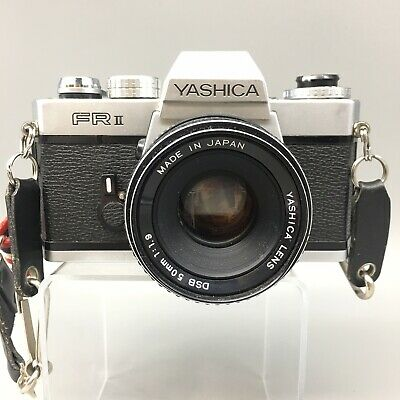 Yashica FR-II 35mm SLR Professional Film Camera with 50mm Lens - Fast Ship - B38
