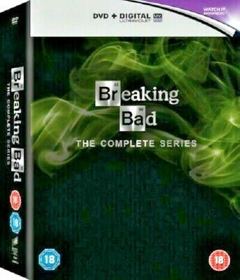 Breaking Bad — Dvd Box Set — The Complete Series-62 Episodes-21 Discs **New**