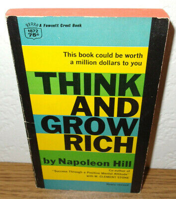 Think & Grow Rich book by Napoleon Hill 1960 revised edition paperback