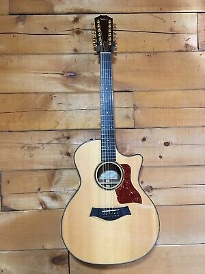Rare Limited Edition Taylor 754-CE-L1 12 Twelve String Acoustic Electric Guitar