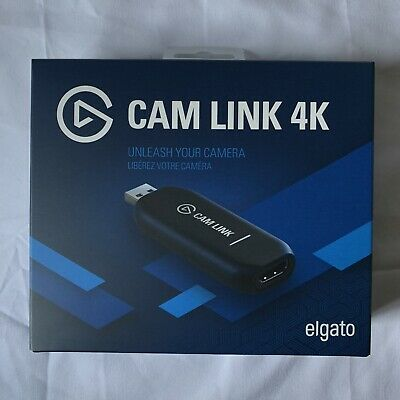 Elgato Cam Link 4k HDMI Device Live Streaming & Recording IN HAND FREE FAST SHIP