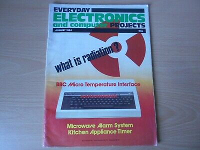 Everyday Electronics Vintage August 1984