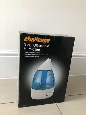 CHALLENGE 3.2 LITRE Ultrasonic Humidifier £15.00 | PicClick UK