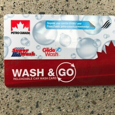 petrocanada car wash gift card 45$ only