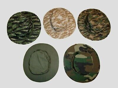 Military Style Boonie Hats Hot Weather Rip-Stop Cotton New In Bags