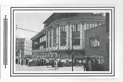 B&W View,Waiting In Line At Forbes Field~Pittsburgh,Pa