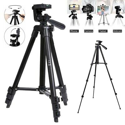 """60"""" Inch Pro Series Camera Video Tripod holder or DSLR Cameras Camcorders bl"""